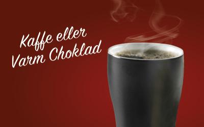 Kaffe och varm chokolad